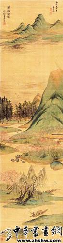 王时敏书画欣赏