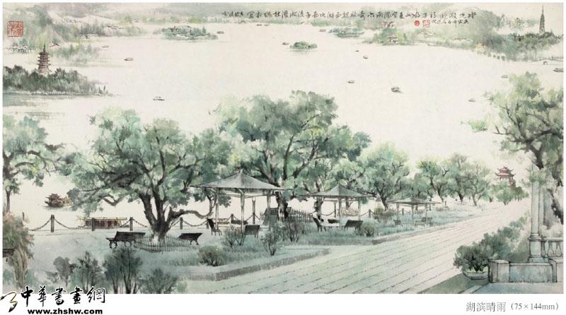 惠州西湖图片 西湖美景手抄报